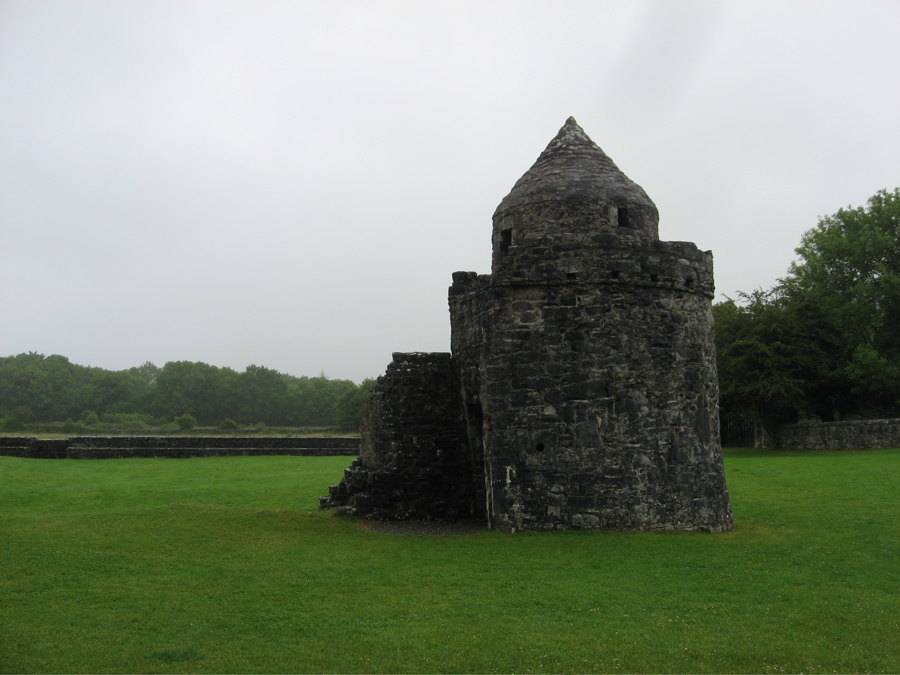 augnanure castle, oughterard, co. galway